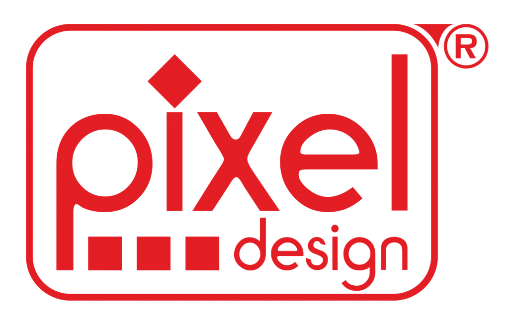 pixel design Logo